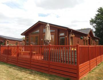 Large Luxury Detached Lodge 28