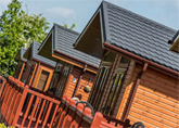 Largest range of holiday lodges in the area